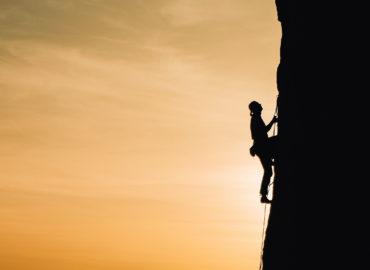 manage stress, climbing a mountain